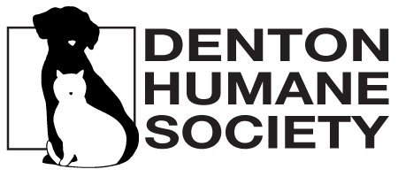 Denton Humane Society Mobile Logo